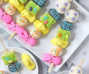 bunny, cake, and cake pops image