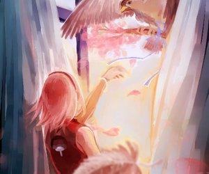 anime, naruto, and sakura image