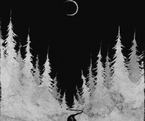 black, jungle, and new moon image