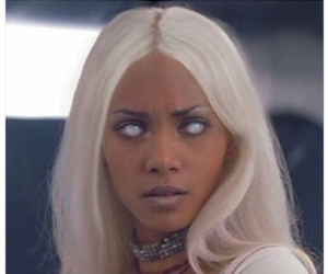 storm, Halle Berry, and x-men image