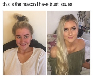 beauty, before and after, and blonde image