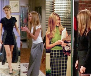 fashion, rachel green, and friends image