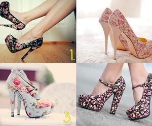 shoes and shoes high heels image