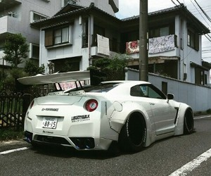 nissan, liberty walk, and sportscar image
