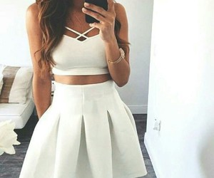 cool, whit, and dress image