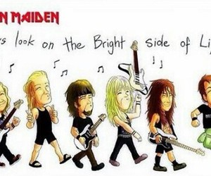 heavy metal, iron maiden, and music image