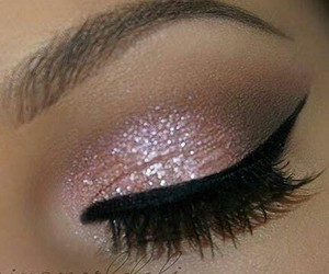 eye makeup, makeup, and fashion image