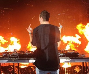 dj, dutch, and ultra music festival image