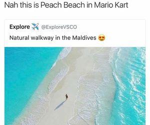 mario kart and funny image