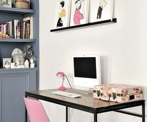computer, decor, and decoration image