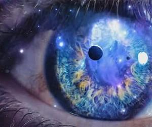 amazing, galaxy, and eye image