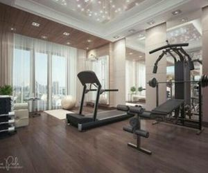 fitness, luxury, and dream house image