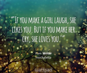 girl, wattpad, and love image