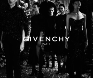 fashion, Givenchy, and black and white image