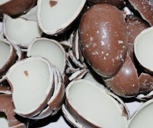 candy, kinder eggs, and chocolate image