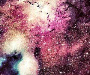 beautiful, galaxy, and stars image