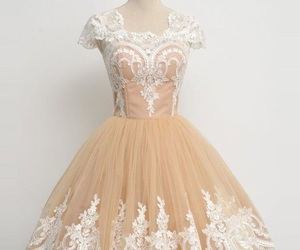 champagne prom dresses, short prom dress, and prom dresses a-line image
