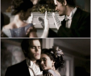 Nina Dobrev, the vampire diaries, and stefan salvatore image