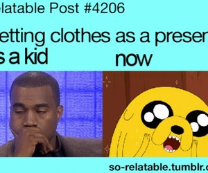 clothes, funny, and present image