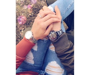 boyfriend, watches, and happiness image