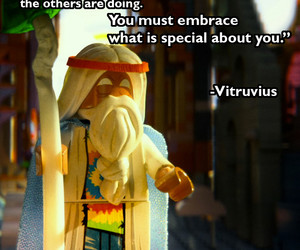 special, you, and lego movie image