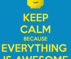 awesome, lego movie, and calm image