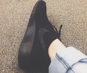 black, matte, and shoes image
