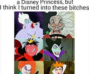 disney, evil, and funny image