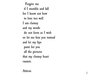atticus, poem, and true image