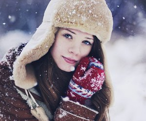 beautiful, beauty, and cold image