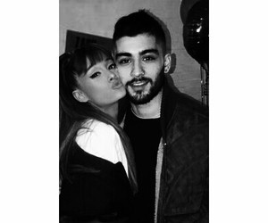 celebrity couple, hot couple, and ariana grande image