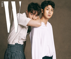choi woo shik, jang ki yong, and 최우식 image