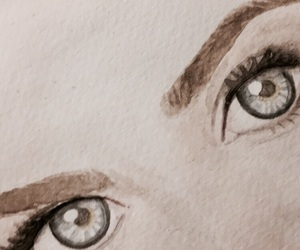 art, eyes, and work in progress image
