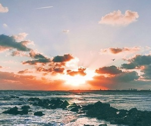 wallpaper, sea, and beach image