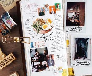 doodles, journal, and memories image