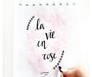 art, drawing, and la vie en rose image