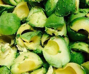 delicious, food, and green image