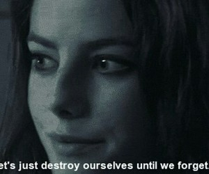 Effy, quote, and skins image