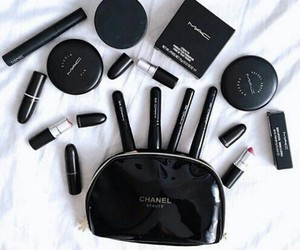 makeup, mac, and black image