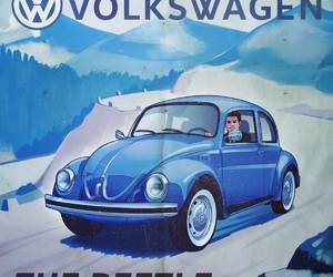 beetle, old, and volkswagen image