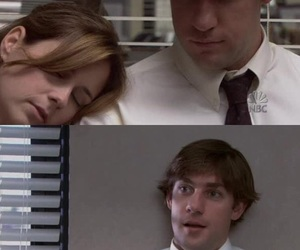 jim halpert, 1x02, and pam beesly image