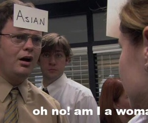 dwight schrute, the office, and the office us image