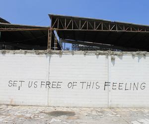 wall, feeling, and feelings image