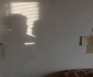 couple, shadow, and indie image