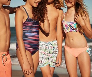 beach, kristina pimenova, and friends image