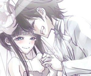 anime, sousei no onmyouji, and rokuro image