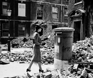1940s, history, and london image