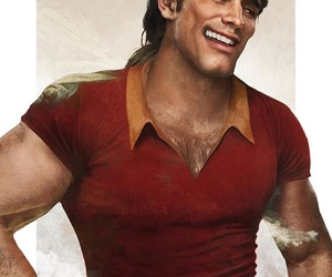 disney, gaston, and beauty and the beast image