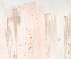 gold, paint, and pink image