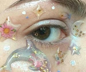 aesthetic, eye, and pastel image